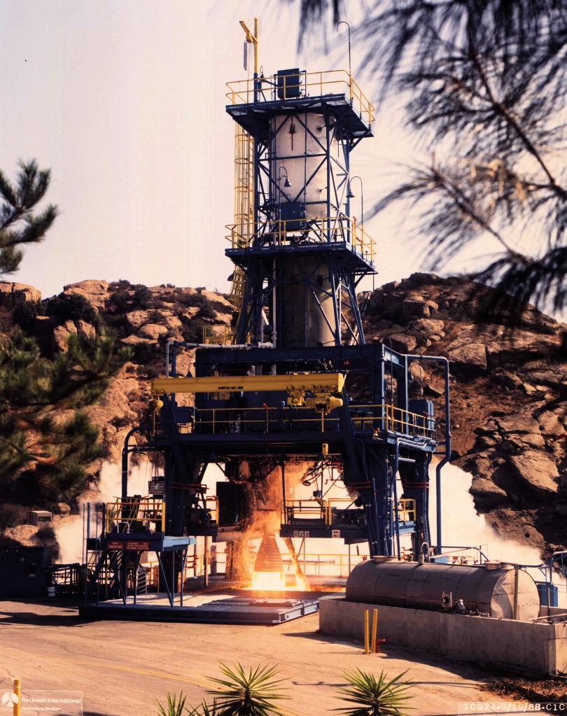SSFL Rocket Engine Test Stand